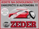 ZABEZPEČTE SI AUTO PŘED DOVOLENOU!!